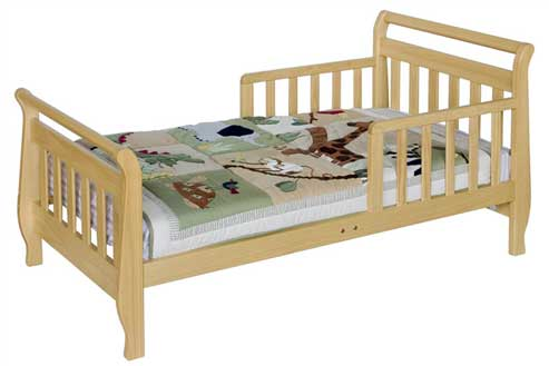Toddler Bed with 5 inch mattress